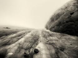 Vedretta del Mandron [La Pelle del Ghiacciaio], 2008