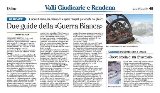 L'Adige 27 marzo Due guide della «Guerra Bianca»_02