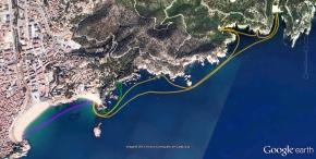 Itinerari a Tossa 0.75-1.2-4.3km