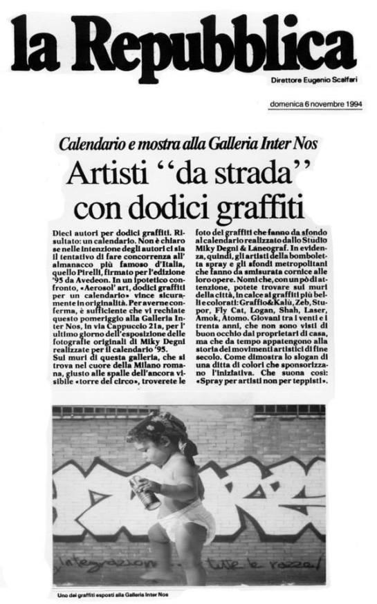 La Repubblica 6/11/1994