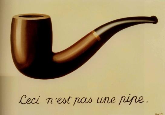 René Magritte, La Trahison des images (Ceci n'est pas une pipe), 1929