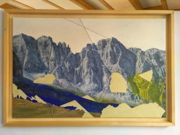 Collage sui Fracingli, 2014. 65x100cm