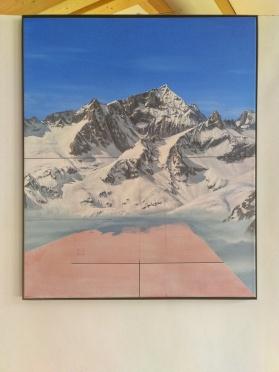 La cima più bella, 2017. 65x54cm